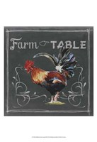 Chalkboard Farm Animals III Fine Art Print