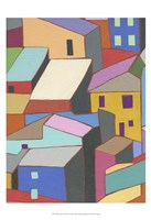 Rooftops in Color II Fine Art Print