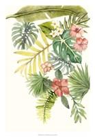 Soft Tropics I Framed Print