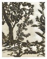 Teahouse Chinoiserie II Framed Print