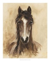 Western Ranch Animals I Framed Print