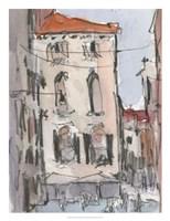 Venice Watercolors III Fine Art Print
