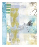 Serene Dragonfly II Framed Print