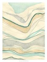Ocean Cascade II Framed Print