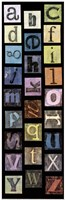 Studio Alphabet II Fine Art Print