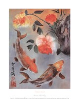 Two Koi Fine Art Print