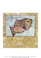 Mosaic Fish II Fine Art Print