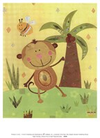 Paper Monkey Fine Art Print