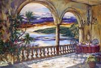 Caribe Sunset Fine Art Print