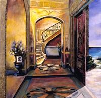 Foyer Of Gold Fine Art Print