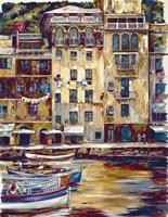Mattina Di Portofino Fine Art Print