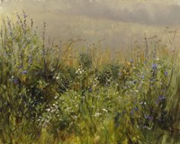 Wildflowers in the Mist Fine Art Print