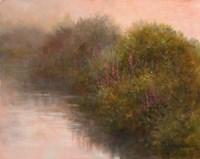 River Vignette Fine Art Print