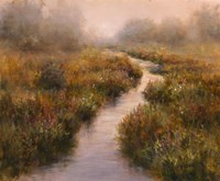 Misted Brook, Arlington Fine Art Print