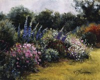 Gardens At Equinox Nursery Fine Art Print