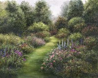 Secluded Garden Fine Art Print