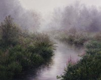 Morning Mist, Arlington Fine Art Print