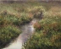 Mist On Warm Brook Fine Art Print