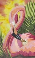 Flamingo Mom Fine Art Print
