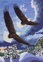 Soaring Over Cloth Mountain Fine Art Print