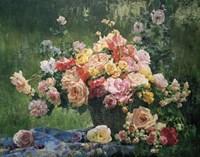 Bouquet on the Grass Fine Art Print