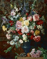Dutch Style Flowers Fine Art Print