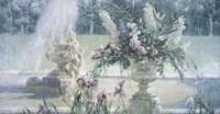 Fountain in the Country Estate Fine Art Print
