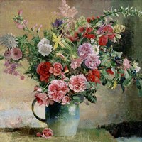 Peony Bouquet Fine Art Print