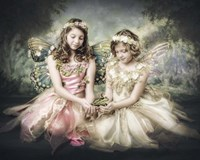 Frog and Princesses Fine Art Print