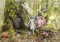 Frolicking Fairies Fine Art Print