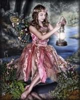 Dusk Fairy Fine Art Print