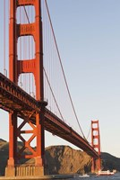 Golden Gate Bridge against a Blue Sky Fine Art Print