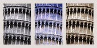 Different Color Exposures of Colleseum Fine Art Print