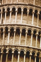 Architectural Close up of Colleseum Fine Art Print