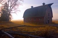Huge Rusted Barn Fine Art Print