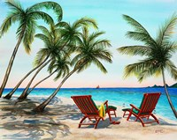 Tropical Vacation Fine Art Print