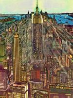 Manhattan 71 Fine Art Print
