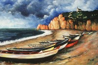 Normandy Coast Fine Art Print