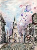 Romantic Montreal Fine Art Print