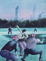 Baseball Players Fine Art Print