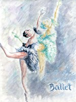 Ballet Dancers Fine Art Print