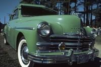 Green Limousine Fine Art Print