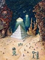 Alien Invasion Fine Art Print