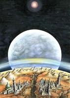 Life On Mars 2299 Fine Art Print