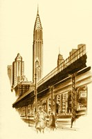 New York 3rd Avenue Fine Art Print