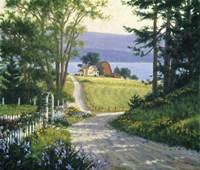 Coastal Backroads Fine Art Print