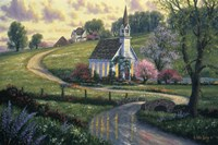 Community Church Fine Art Print