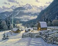 Peaceful Homestead Fine Art Print