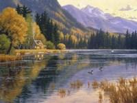 Silver Lake Getaway Fine Art Print