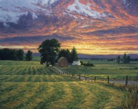 Farm Sunset Fine Art Print